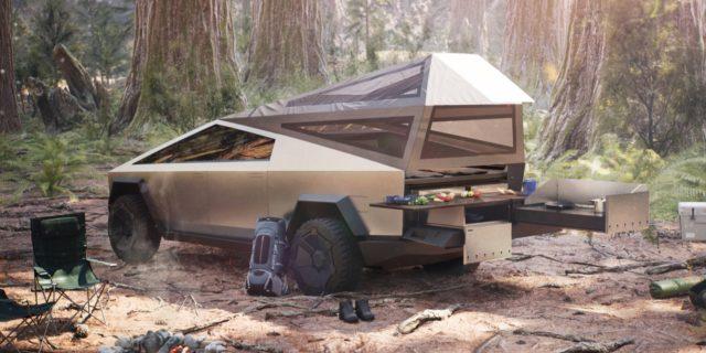 Tesla Camping