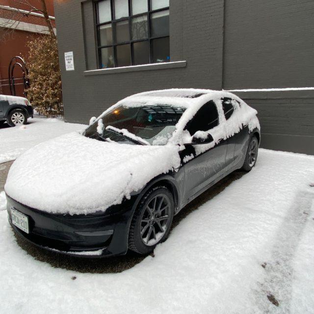 Model 3 Winter